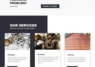 طراحی سایت شرکتی و خدماتی انگلیسی